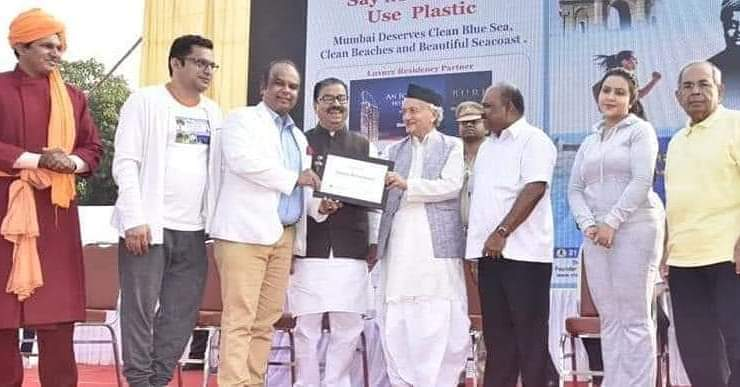 ACOHI Chairman Shri. Sanee Awsarmmel felicitated by His Excellency Governor of Maharashtra