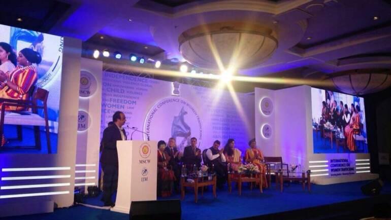 ACOHI Chairman Shri. Sanee Awsarmmel on Powerful Political Dias