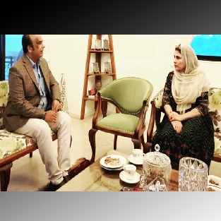 Meeting of our Chairman with her Excellency Ms. Zakia Wardak Ji